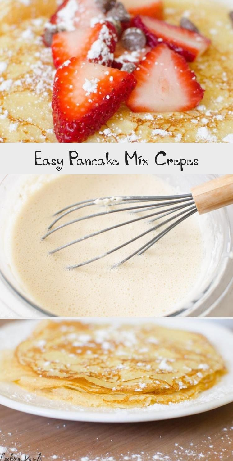 Easy Pancake Mix Crepes Are Thin And Irresistible Made From Pancake Mix Milk An Egg And Vanilla These Are Made In 2020 Easy Pancake Mix Pancakes Mix Pancakes Easy,10 Year Wedding Anniversary Cake