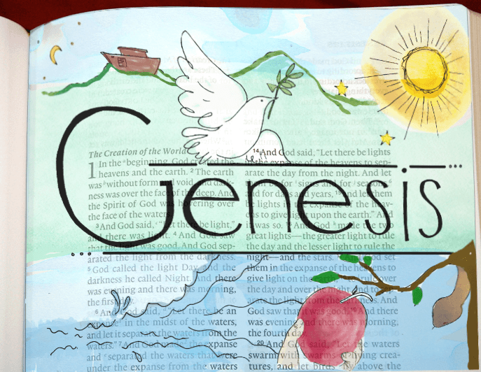 Bible Journaling Digitally Genesis Coloring PagesColoring BooksFree