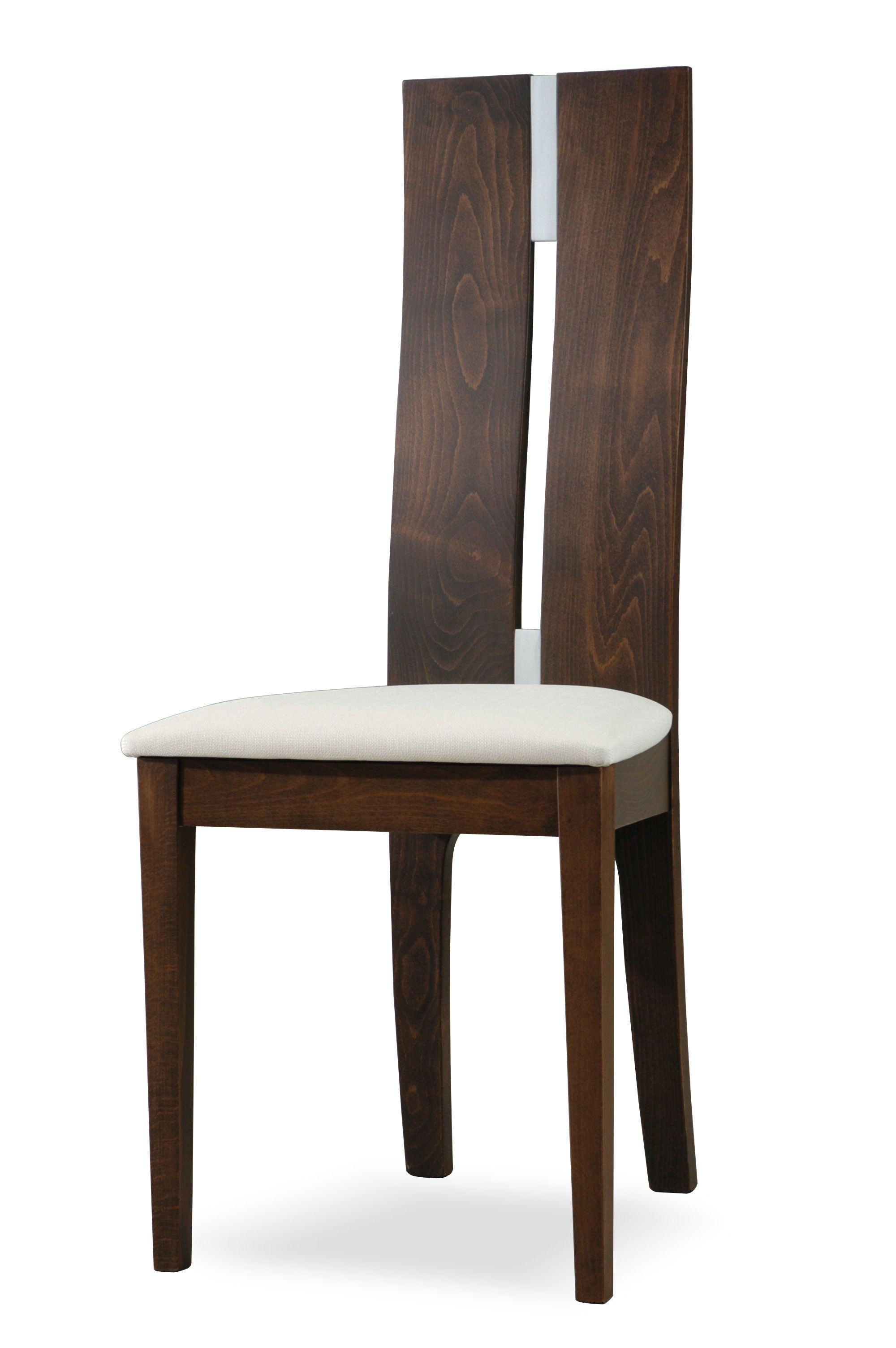 SIDE 28. A nice strong long back rest side chair with ...