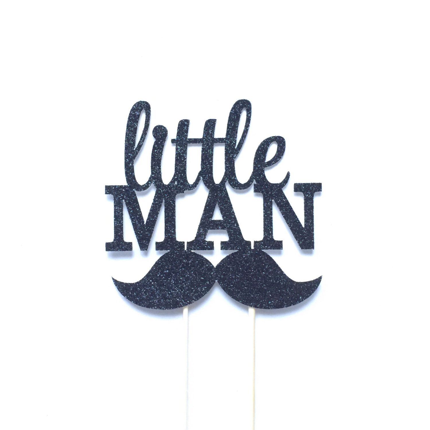 Little Man Cake Topper Baby Boy Shower Little Man Party Birthday