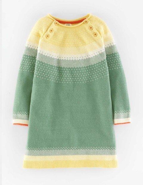 Ombre Fair Isle Knitted Dress | Arya Noelle | Pinterest | Fair ...