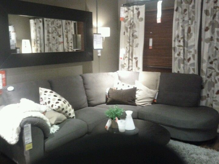 IKEA Tidafors Gray Brown