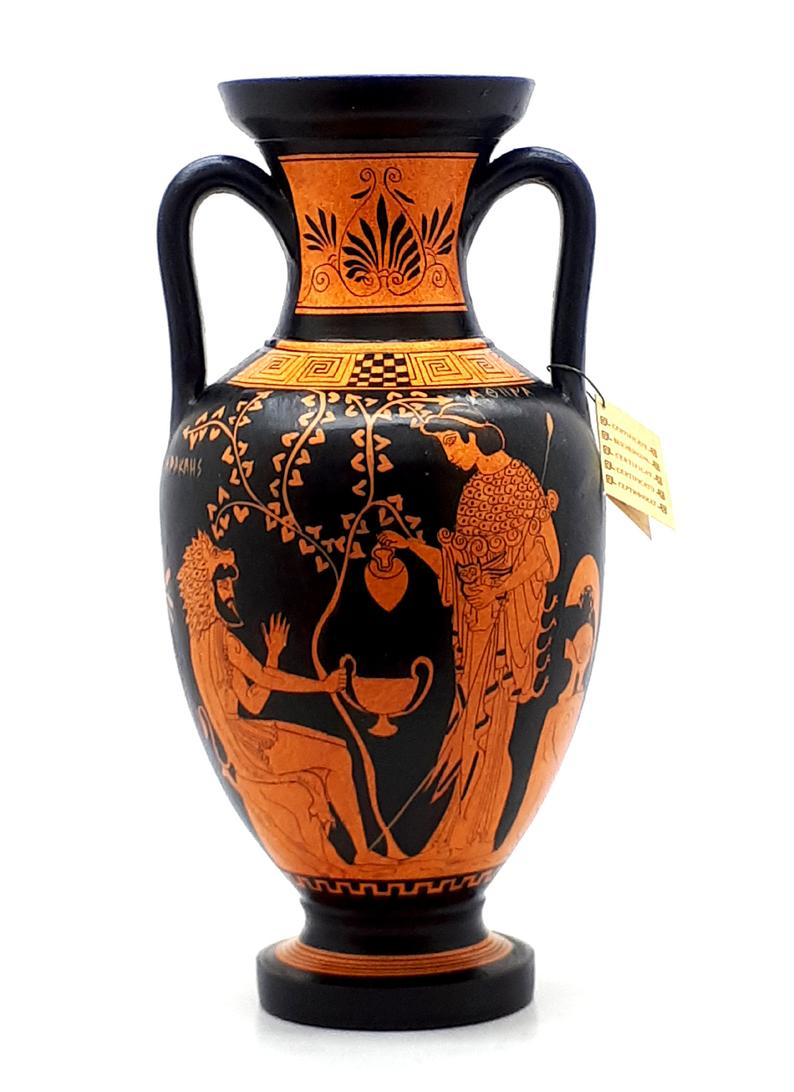 Ancient Greek Vase Red Figure Pottery Amphora Teacher Of Music Etsy In 2020 Greek Vases Ancient Greek Pottery Greek Pottery