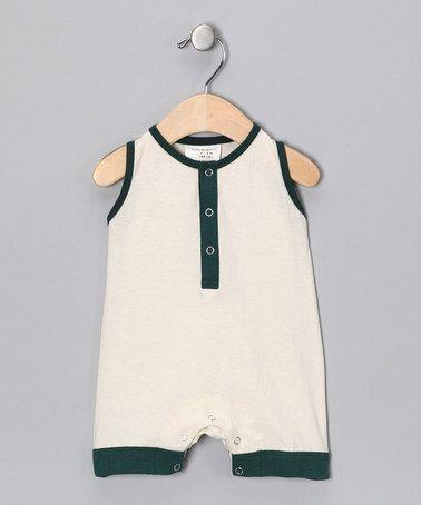 6eb6b39c6 Take a look at this Jolly Green Bean Organic Shortalls - Infant by ...