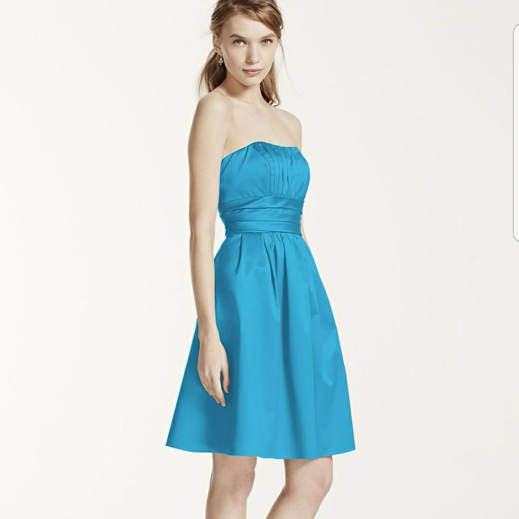 Davidus bridal dress size style blue products