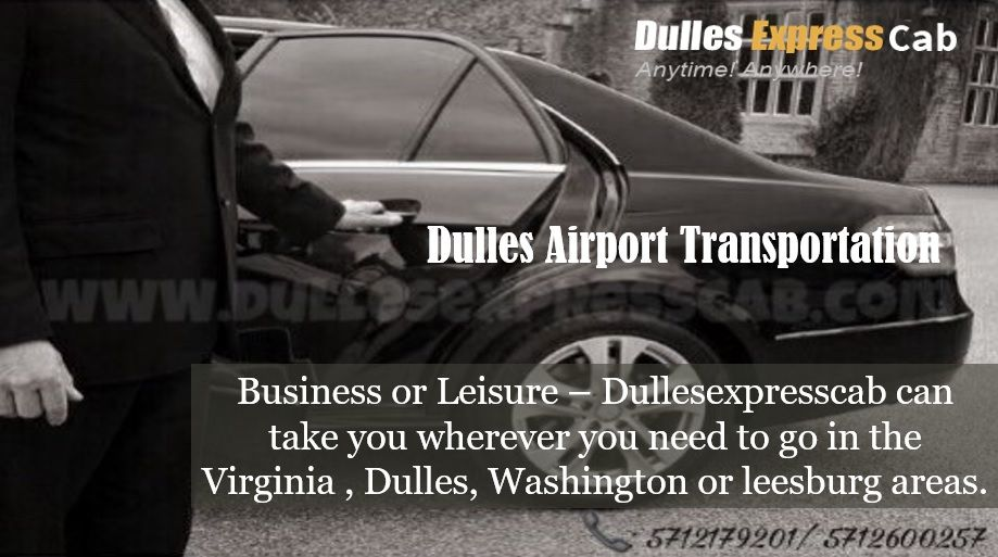 Comfort That Goes Beyond Vehicle with Dulles Airport