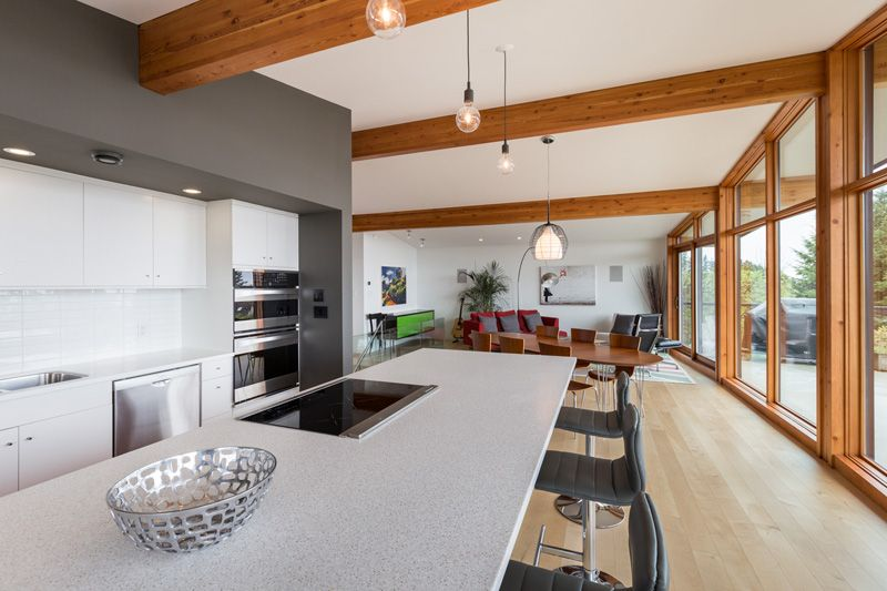 A Mid Century Modern Home In Vancouver Gets An Update Interior Kitchen Pinterest Mid
