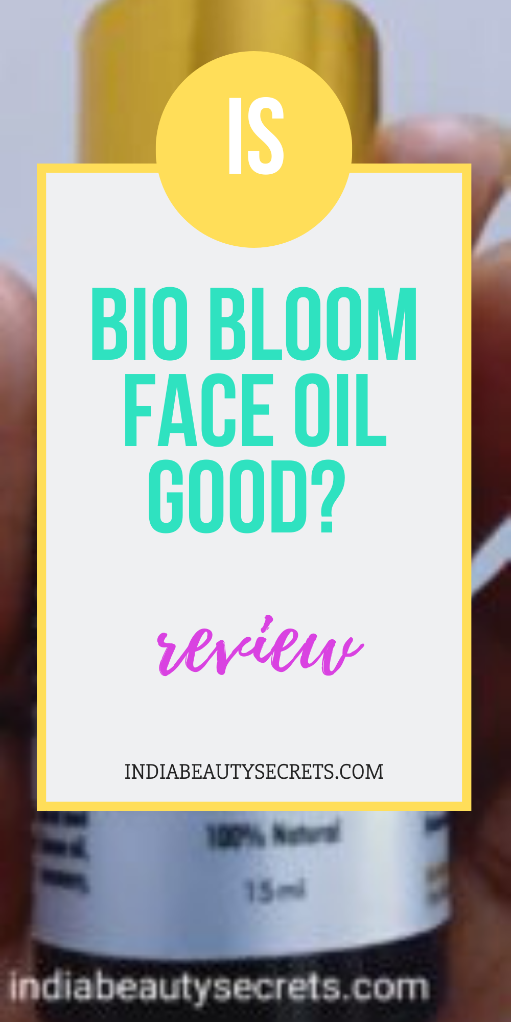 Bio Bloom Face Oil Age Defying Face Oil Review How To Use Biobloom Face Oil For Acne For Dry Skin Oily Face Products Skincare Face Oil India Beauty Secrets