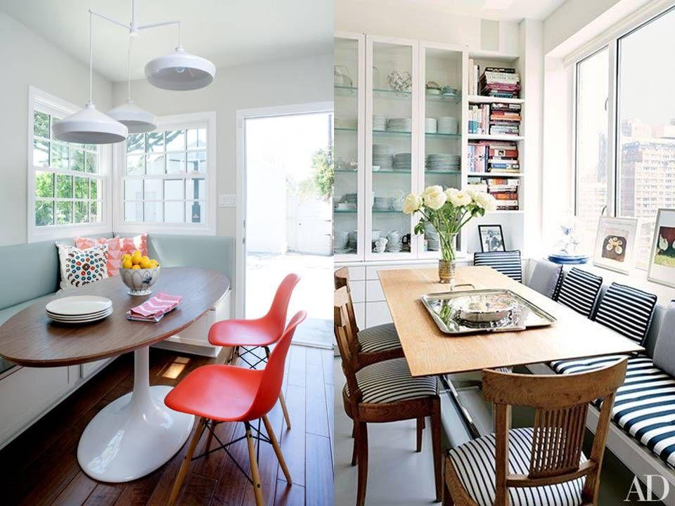 combat des styles banquette de salle manger buk. Black Bedroom Furniture Sets. Home Design Ideas