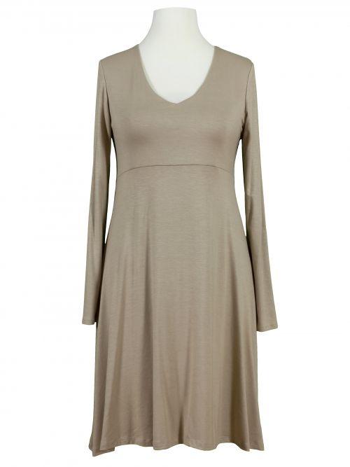 Jerseykleid A-Form, beige   Kleider, Kleid arbeit, Modestil