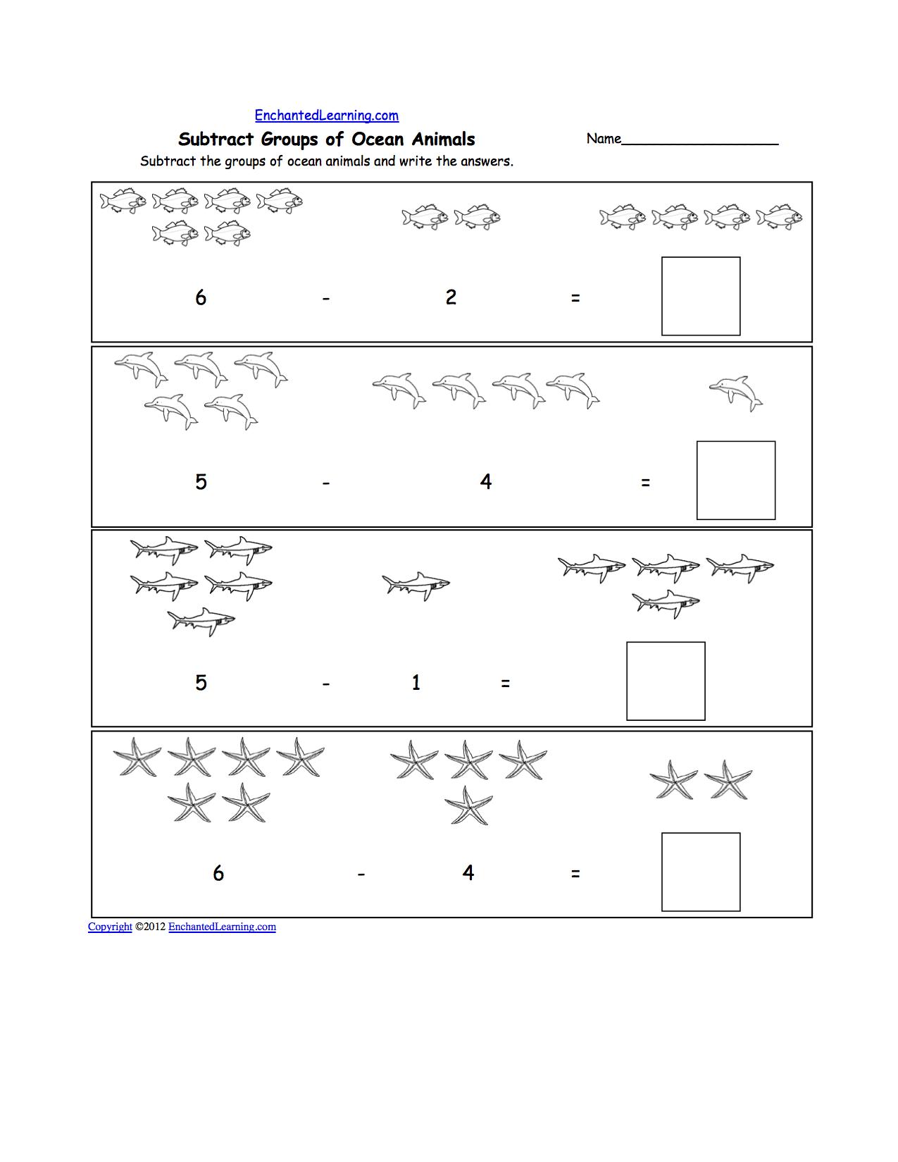 Worksheets Ocean Worksheets oceans and seas adding practice ocean theme pinterest practice