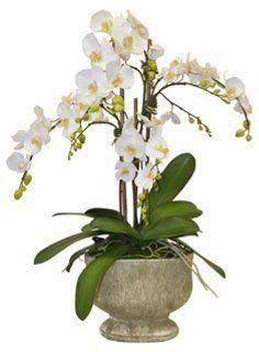 Leeman Artificial Lifelike Real Touch Flowers Arrangement