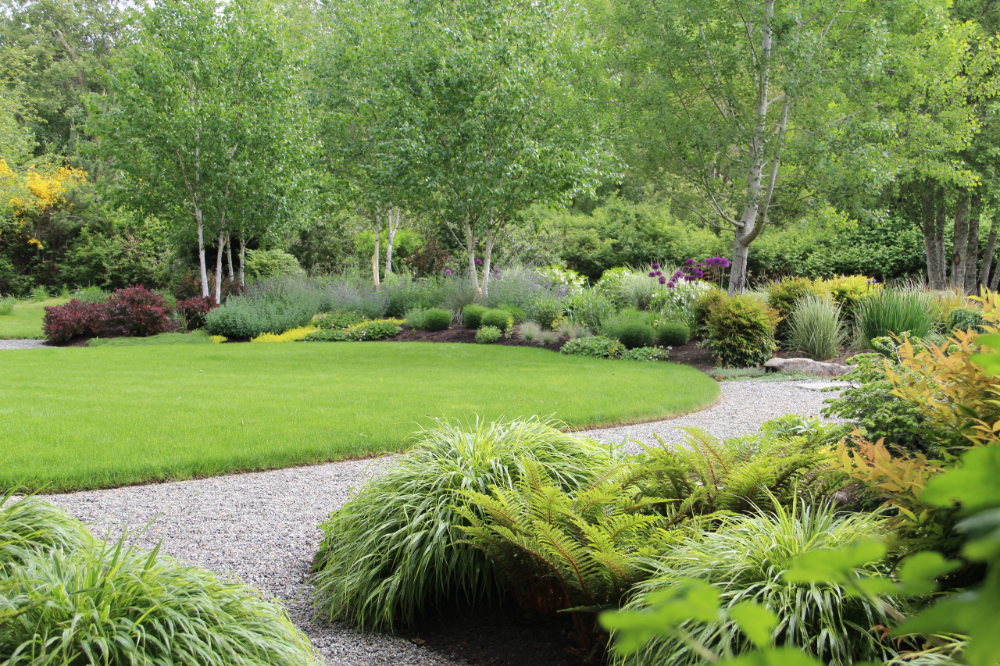 Hopkins Rees Bainbridge Island Wa Traditional Landscape Seattle By Bliss Garden Design Llc In 2020 Stone Landscaping Easy Landscaping Traditional Landscape