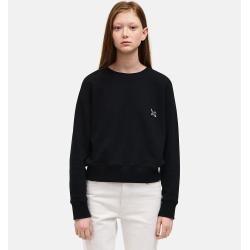 Calvin Klein French-Terry-Sweatshirt mit Rundhalsausschnitt S Calvin Klein