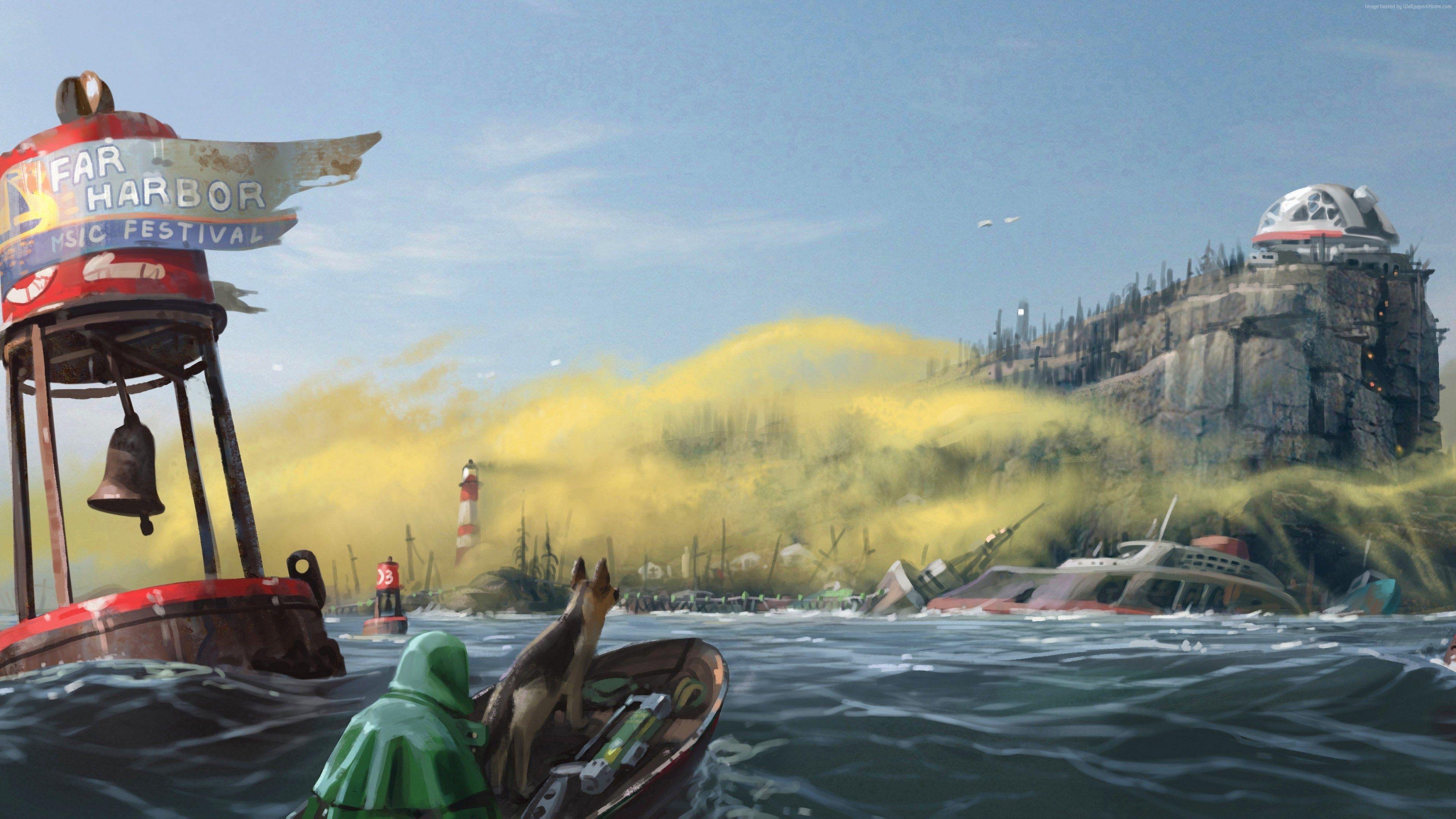 3840x2160 Fallout 4 4k Wallpaper Photo Download Free Fallout 4 Wallpapers Fallout 4 Far Harbor Fallout Art