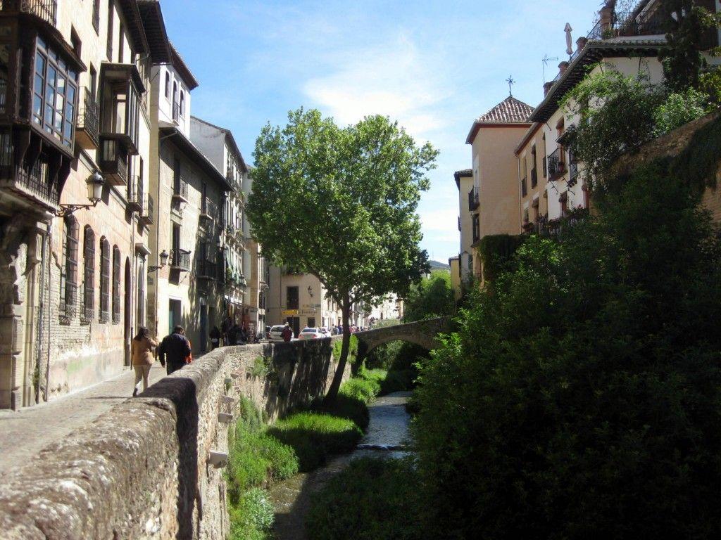 Rincones de Andalucía: Carrera del Darro (Granada) / Places in Andalucía: Carrera del Darro (Granada)