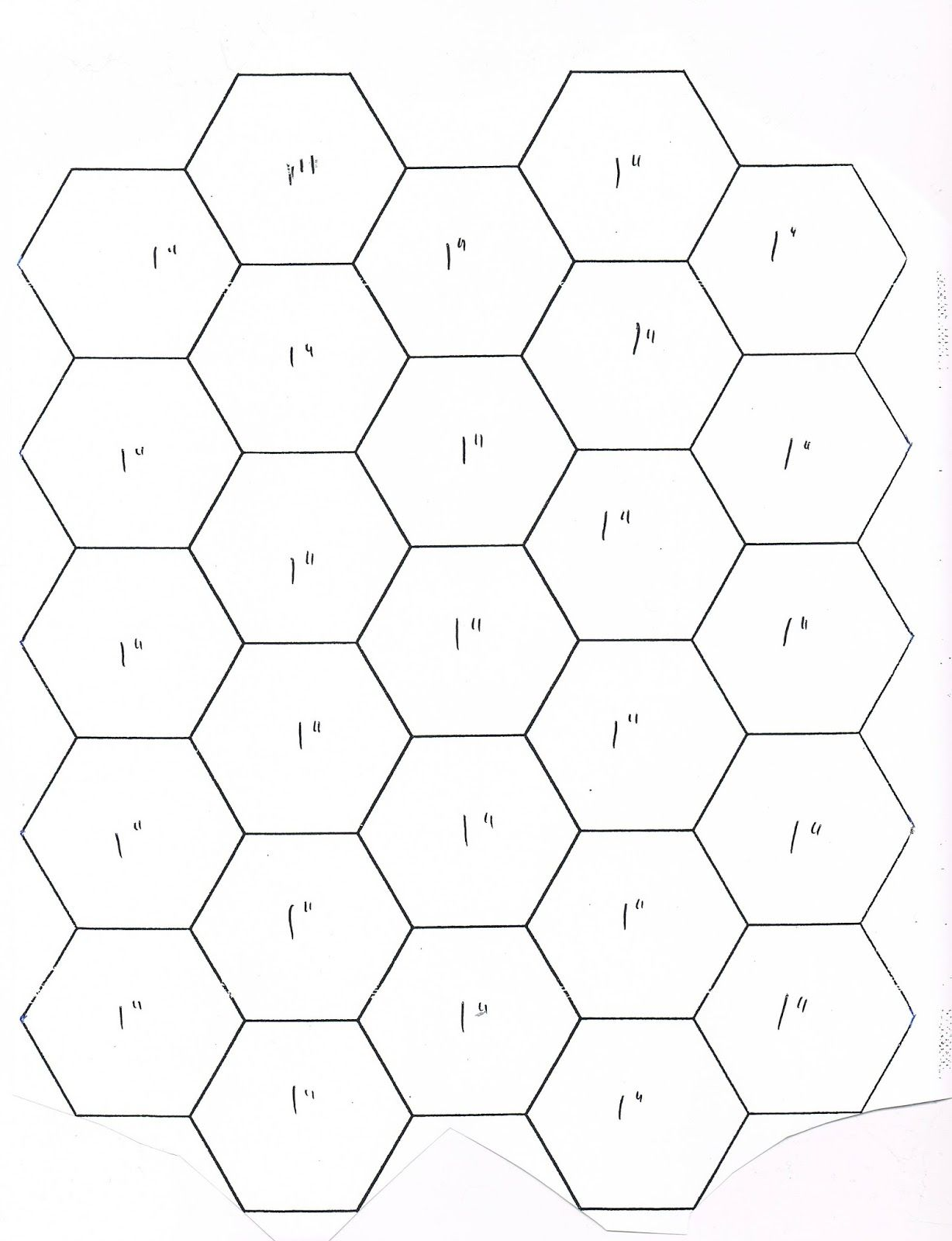 Faeries and Fibres: English Paper Piecing Instructions & Hexagon ... : hexagon template quilting - Adamdwight.com