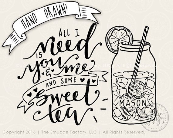 Mason Jar Cutting File Jesus Svg Raised On Sweet Tea And Jesus Svg Cut File Mason Jar Svg Silhouette Bible Verse Hand Drawn Cricut Clip Art Art Collectibles
