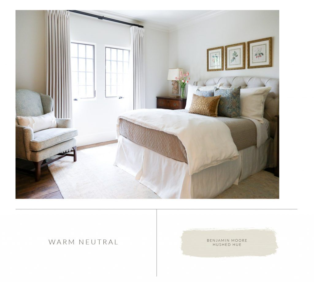 Marie Flanigan Interiors   8 Bedroom Paint Colors To Fit Any Mood    Benjamin Moore   Hushed Hue