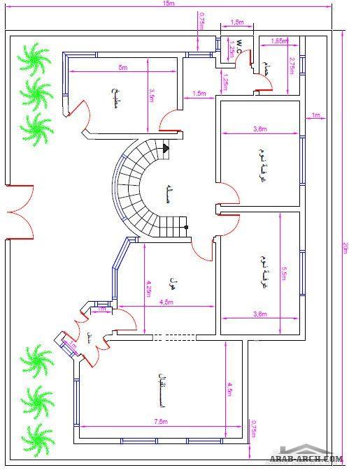 نتيجة بحث الصور عن خرائط منازل 250 متر My House Plans Diagram Map