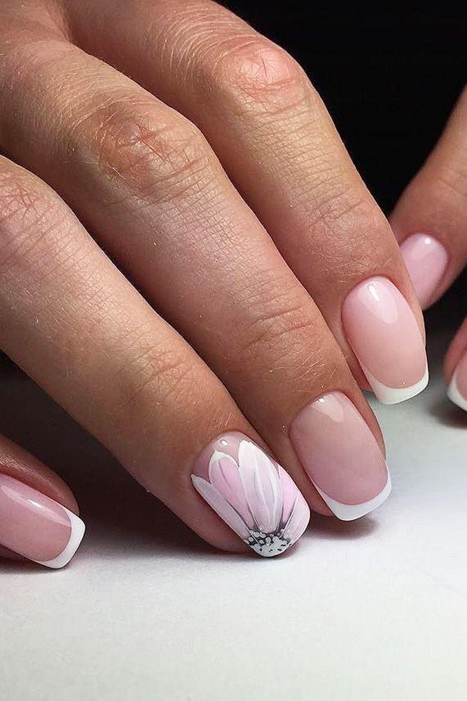 30 Cute Nail Design Ideas For Stylish Brides | Make up, Wedding make ...