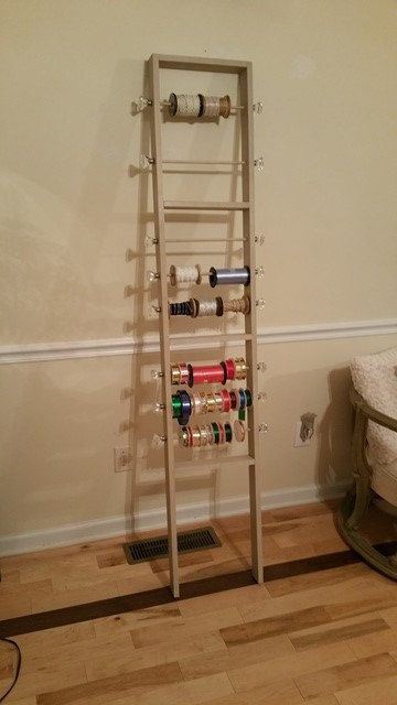 The Ribbon Ladder Is Handcrafted And To Hold All Your Ribbon