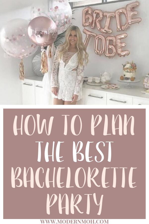 Photo of So planen Sie die beste Bachelorette Party