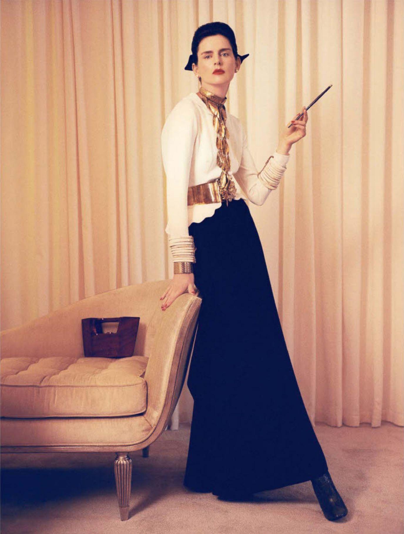 MUSE Stella Tennant by MASTER Steven Meisel #masterandmuse #ambervalletta #yoox