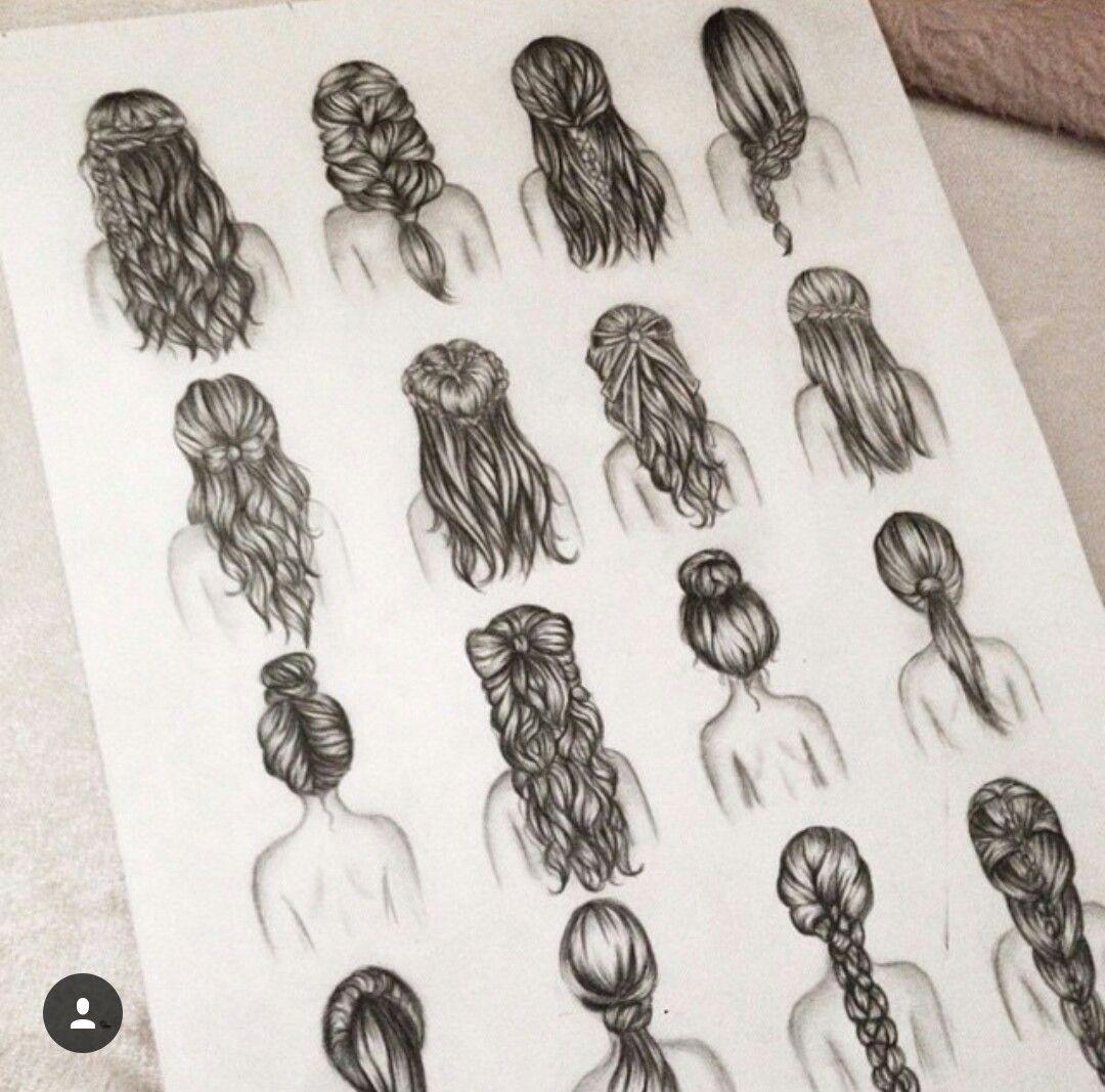 Pin Von Jessi Auf Bleistiftzeichnungen Haare Zeichnen Frisuren Zeichnen Zeichnungen Von Haaren