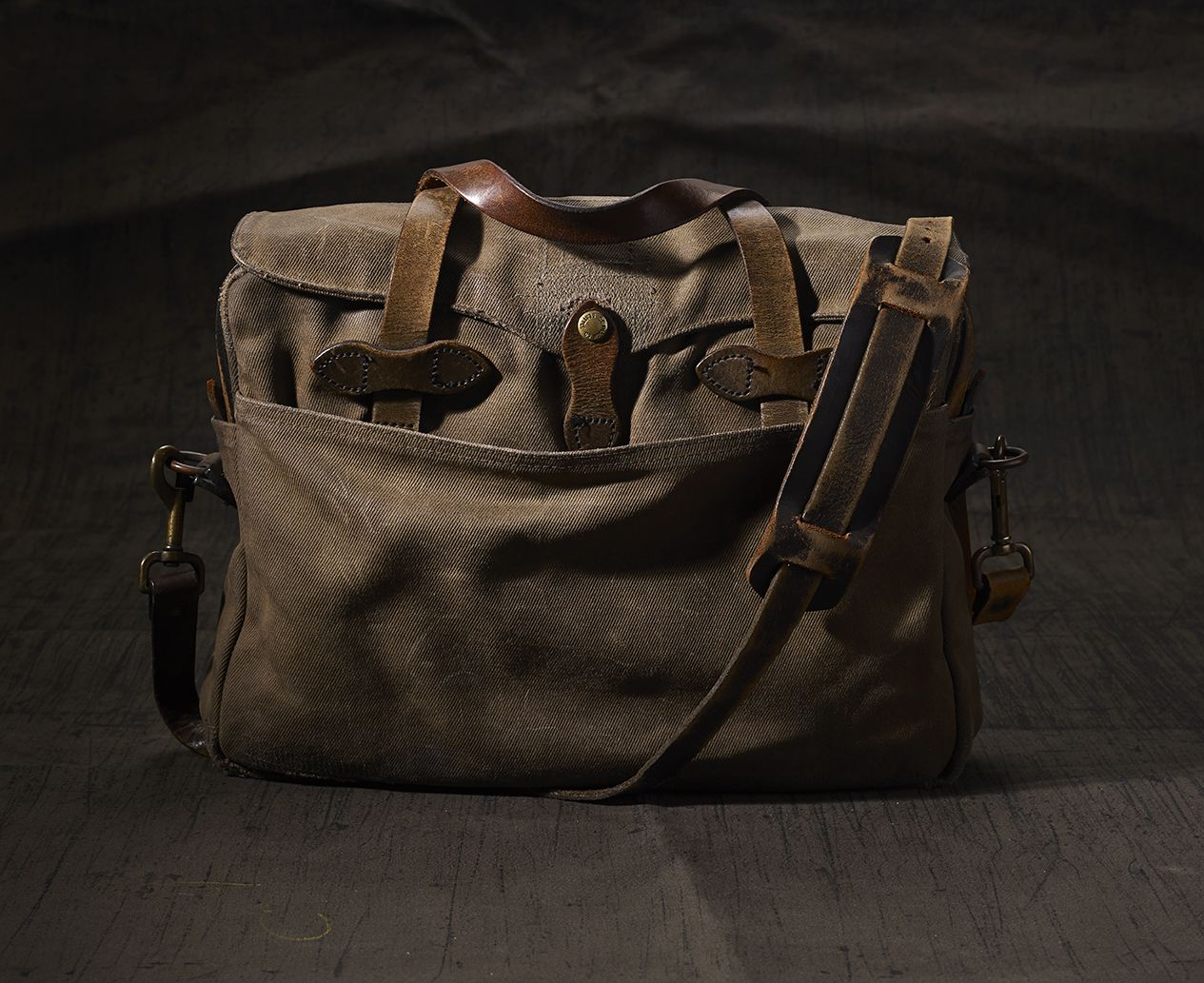 d78ede961f3 The Filson Restoration Department brings a second life to vintage Filson  bags