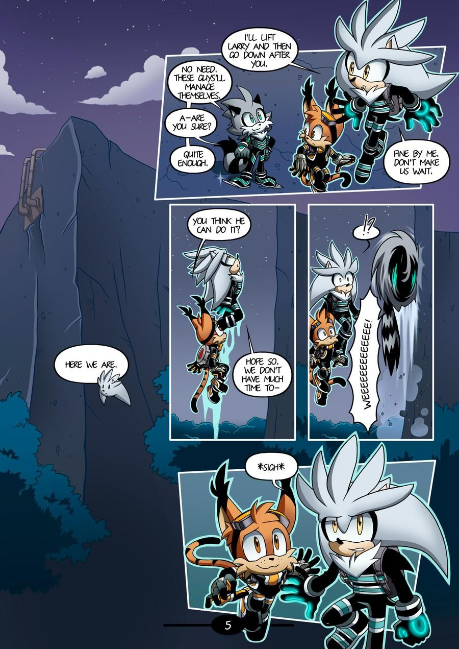 Mobius Legends Issue 2 - A Maidens Heart: Page 5 by