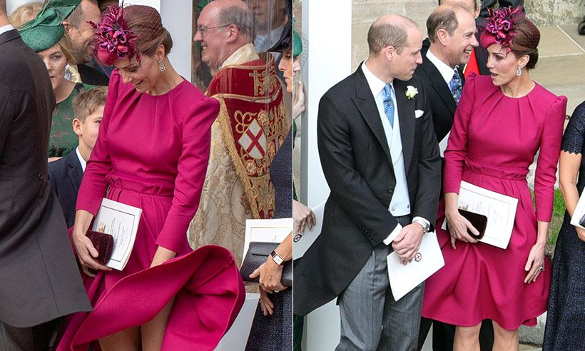The Countess Of Wessex S Reaction To Kate Middleton S Dress Blowing In The Wind Is Amazing Erdmannchen Eichhornchen
