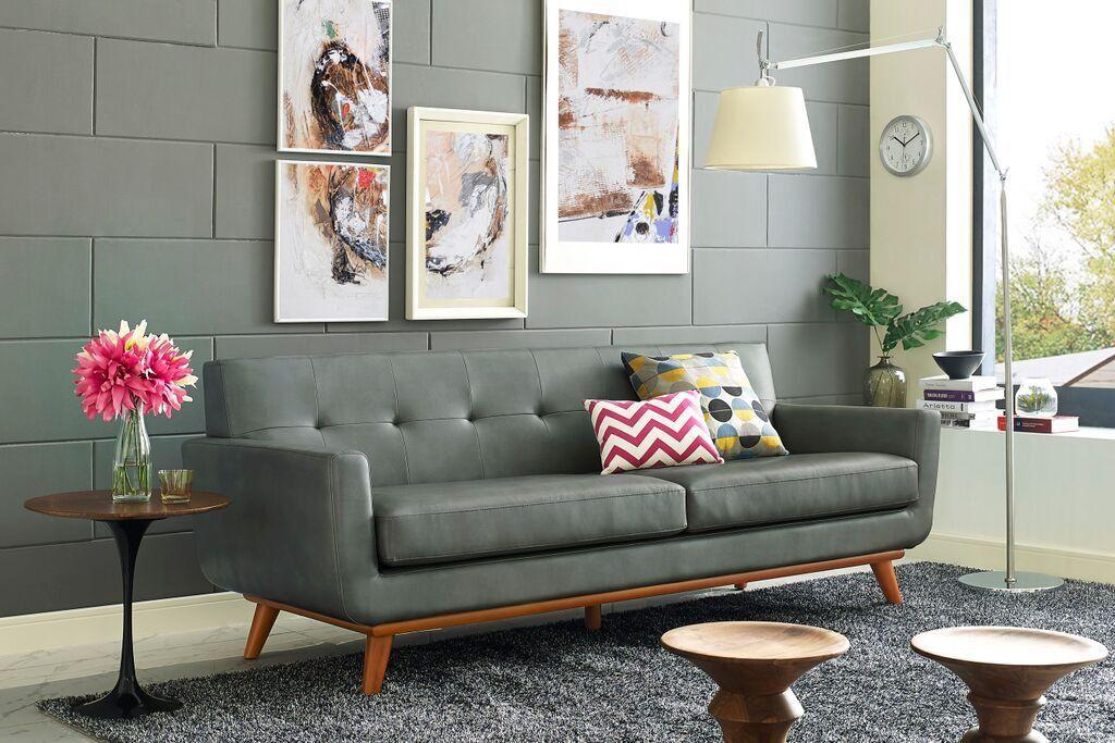 Lyon Smoke Grey SofaThe Lyon sofa captures the essence of ...
