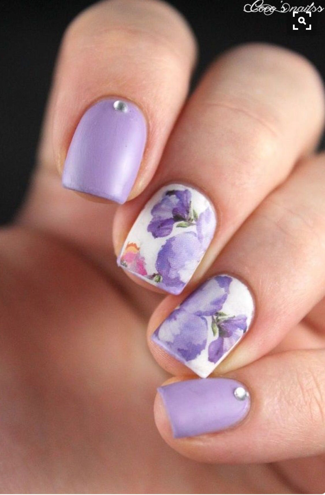 It's summer, and you wish Fabulous beautiful Nails. Well, you wish all the  time, however particularly within the summer! and that we have them, ... - Pin By Terri Shaw On Floral Nails Pinterest Mani Pedi, Pedi And