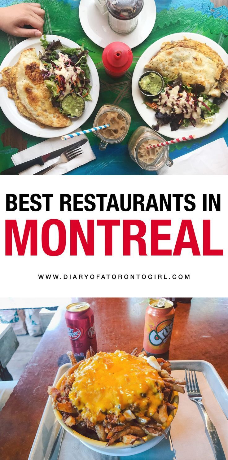 Where To Eat And Drink In Montreal Quebec In 2020 Foodie Travel Travel Food Montreal