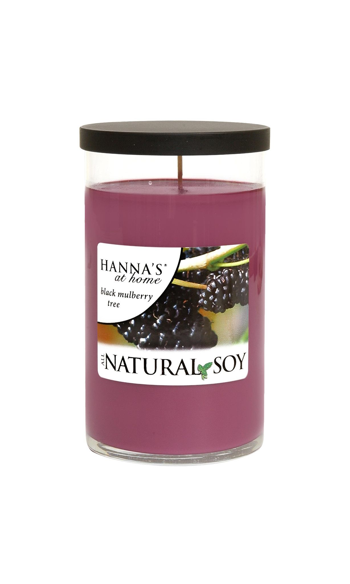 Natural Soy Black Mulberry Tree Scented Soy Candle