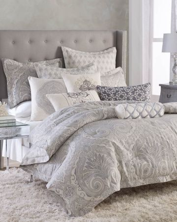 Khitan Five Piece Comforter Collection, Nina Campbell Tapestry Bedding