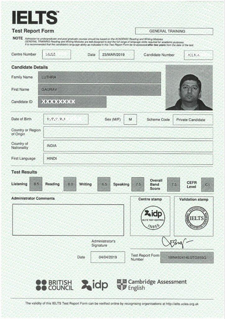 buy ielts certificate in punjab, buy ielts certificate