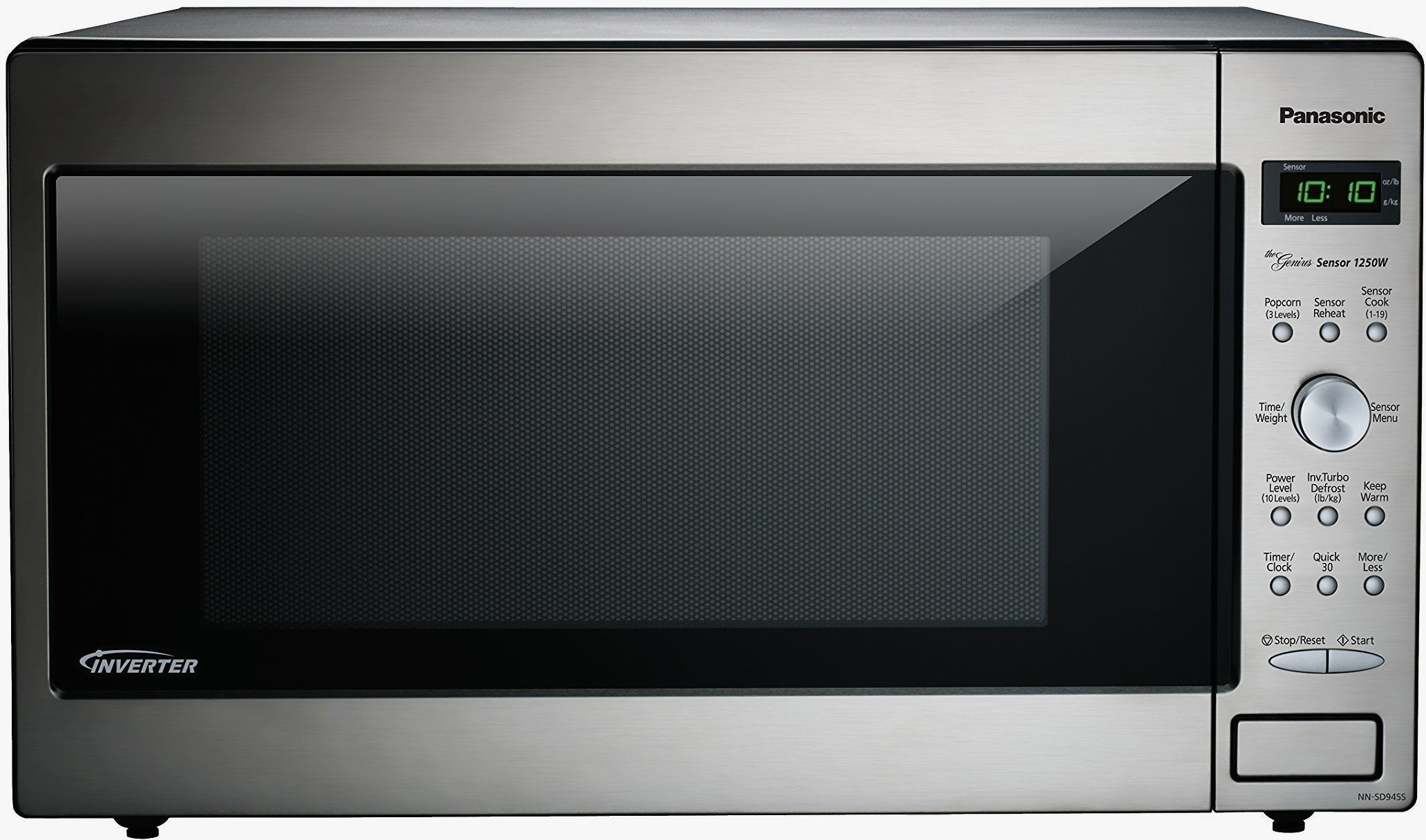 Panasonic Nn Sd945s Countertop Microwave With Inverter Technology