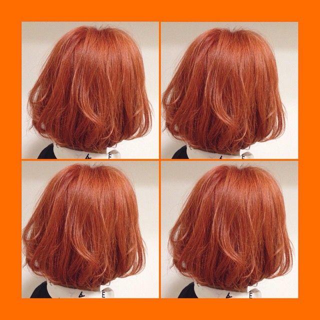 長くつ下のピッピみたいに 派手でもいいの オレンジヘアカラーの極意 に含まれるinstagramの画像 Mery メリー オレンジ ヘアカラー ヘアスタイリング カラフルヘア