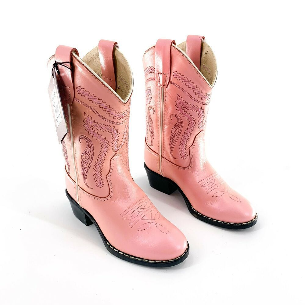 Ebay Link Old West Girls Iridescent Pink Round Toe Boot 11 Nwt 1160 54 95 Fashion Clothing Shoes Acc Western Cowboy Boots Old West Boots Boots
