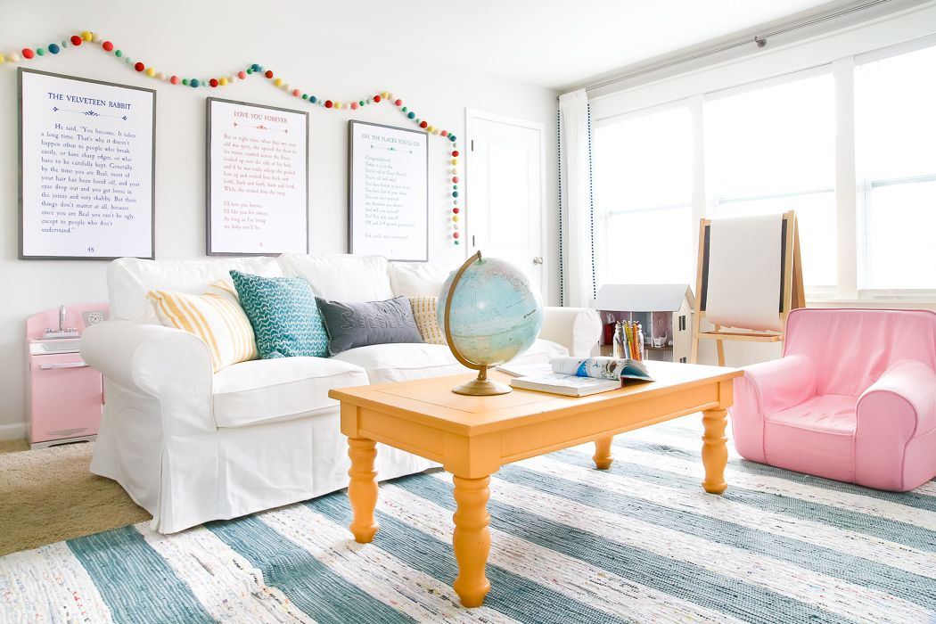 Amazing Mustard Playroom Coffee Table Makeover Diy Wood Furniture Dailytribune Chair Design For Home Dailytribuneorg