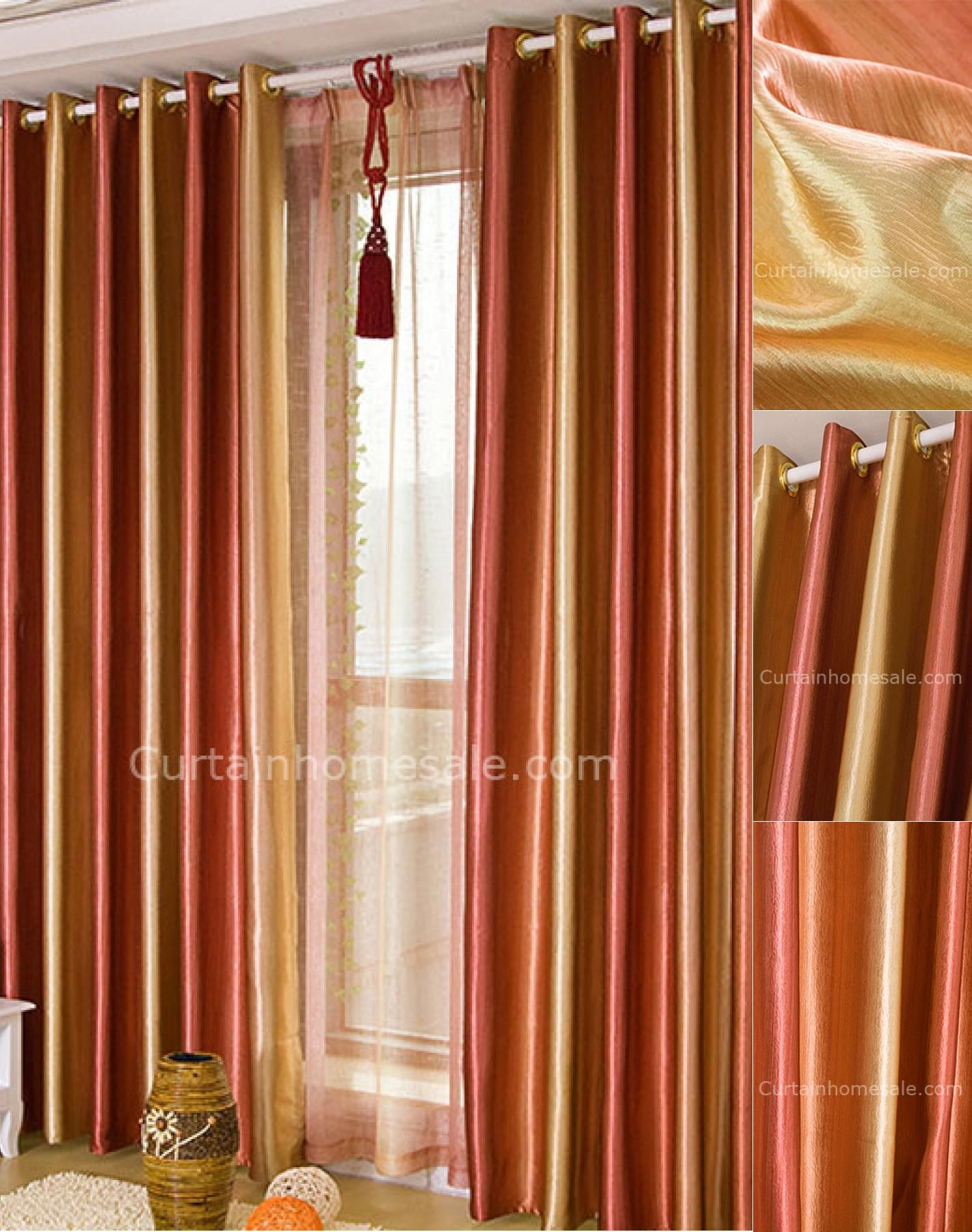 Pics Photos Beautiful Orange Living Room Curtain Jpg Hidup #teal #and #brown #curtains #for #living #room