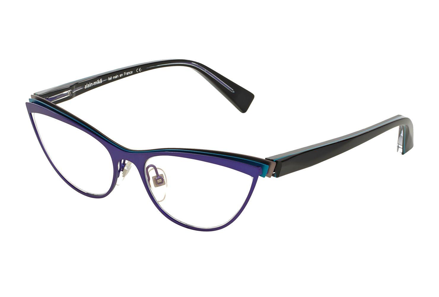 AL13401055 Acétate Cerclé Optique Rouge nacré alain mikli #bril ...