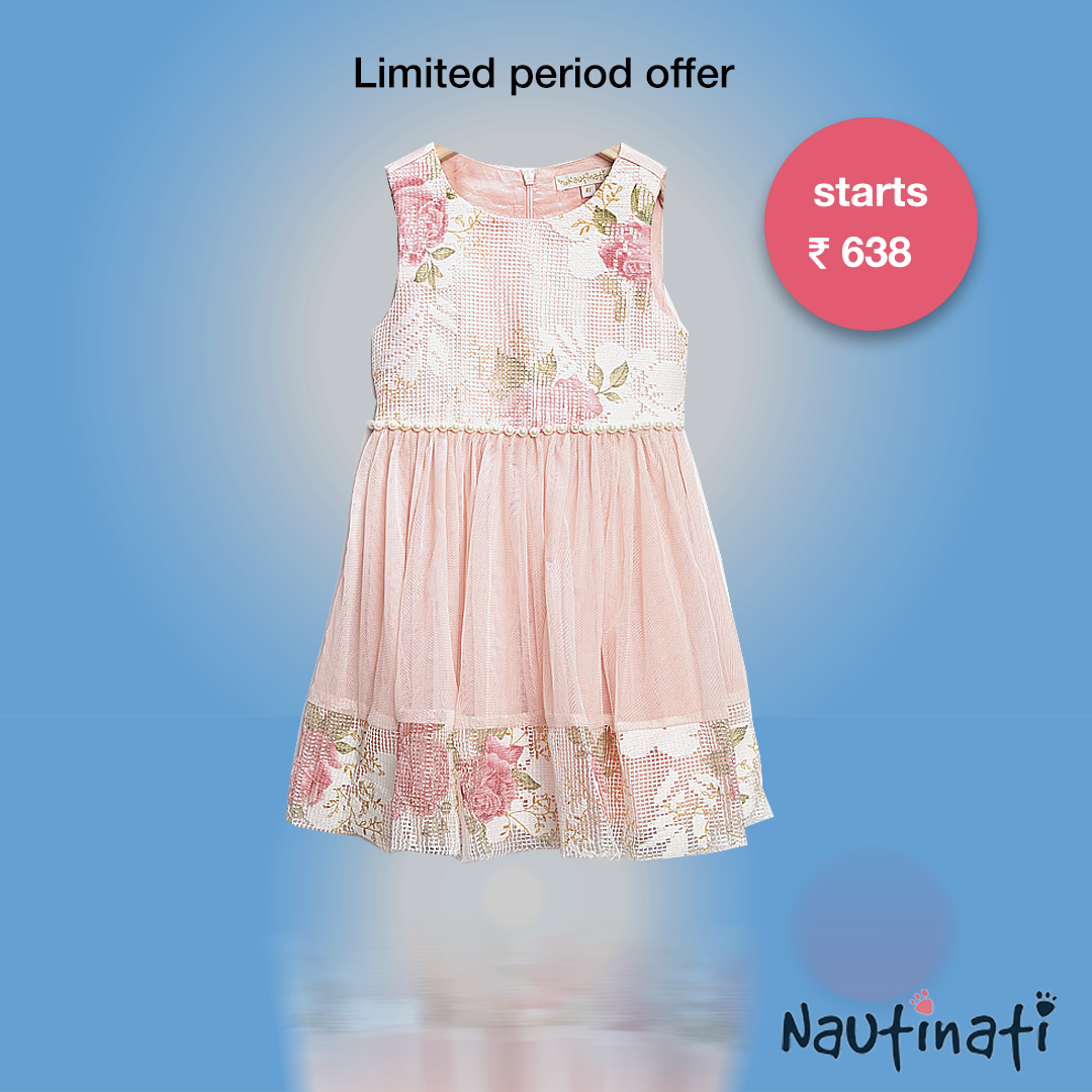 Shop for premium dresses for girls on Myntra | Up to 60% Off! Hurry ...