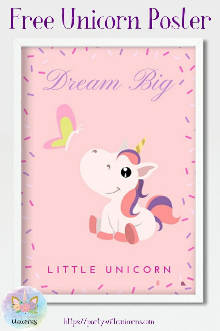 Unicorn Posters - Free Download #littleunicorn