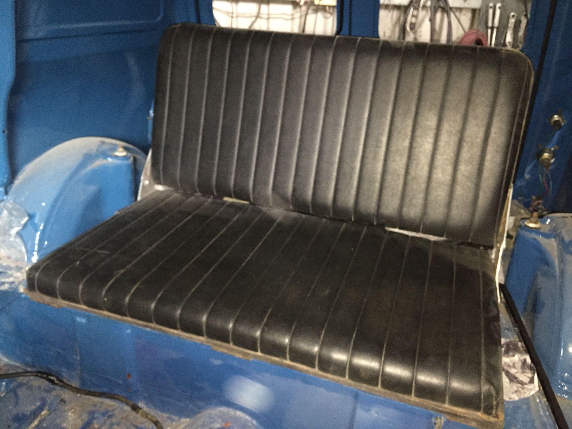 Rear Seat Project Mini Austin Van Classic Mini Rear