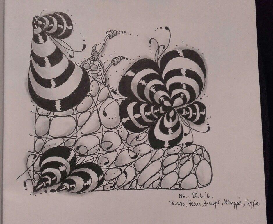 #zentangle #blackandwhite #pattern #bunzo #fescu #zinger #nzeppel #tipple