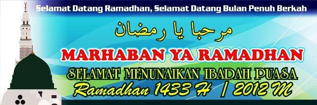 Download Spanduk Banner Ramadhan Format Vector Corel 11 ...