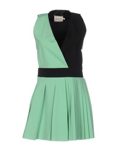 FAUSTO PUGLISI Women's Short dress Light green 8 US
